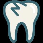 در صورتی که دندان دائمی در اثر ضربه، از لثه خارج شد، دندان خارج شده را در محیط مناسبی مانند شیر کم چرب، سرم فیزیولوژیک نگهداری نموده و در اسرع وقت به دندانپزشک مراجعه نمایید