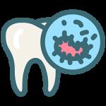 پوسیدگی یک بیماری قابل انتقال میکروبی است. بدین صورت که در داخل دهان مواد قندی توسط باکتریها به اسید تبدیل میشود